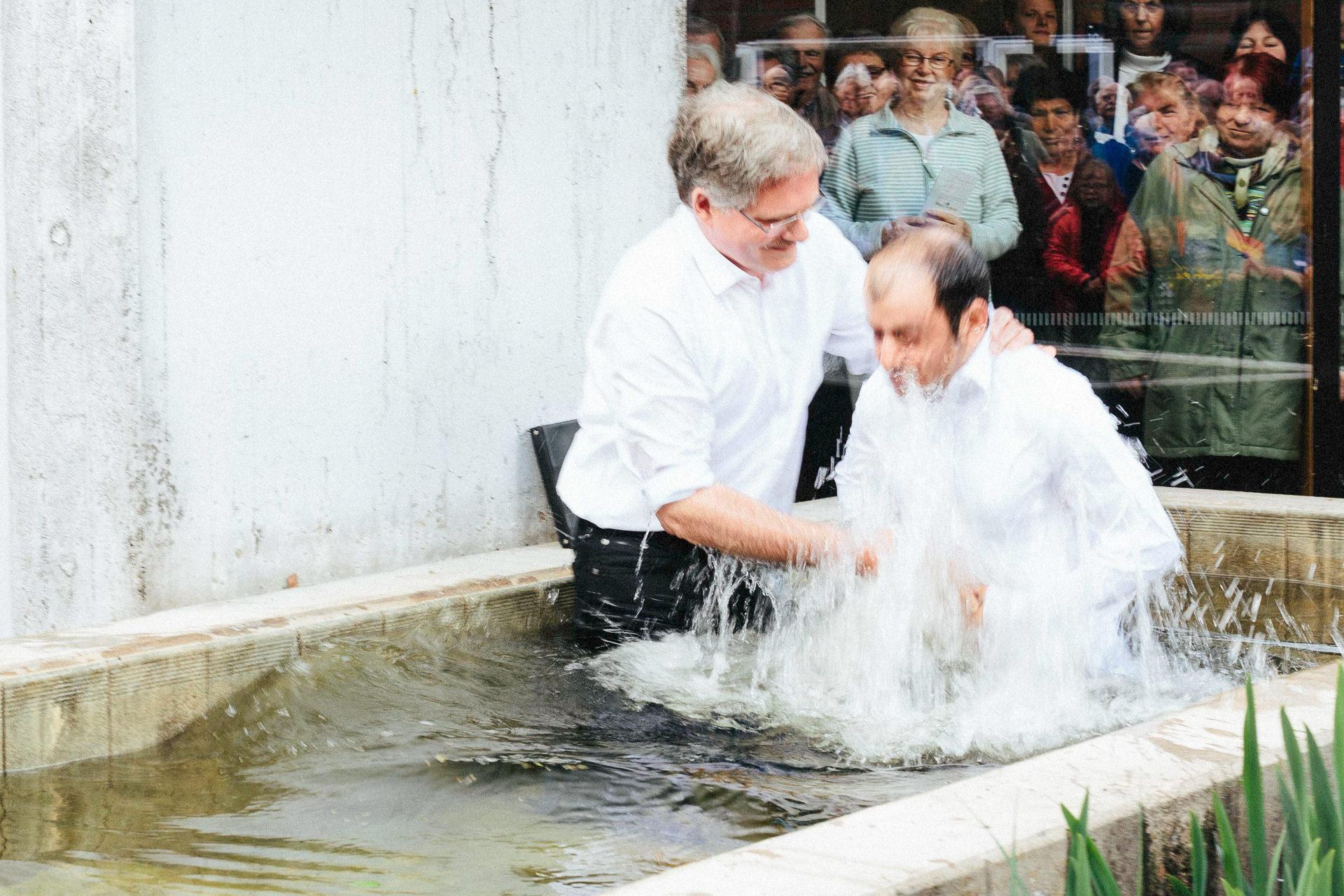 Taufe in der Matthäus-Gemeinde Bremen