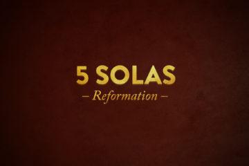 5 Solis – Predigtreihe zum Reformationsjubiläum