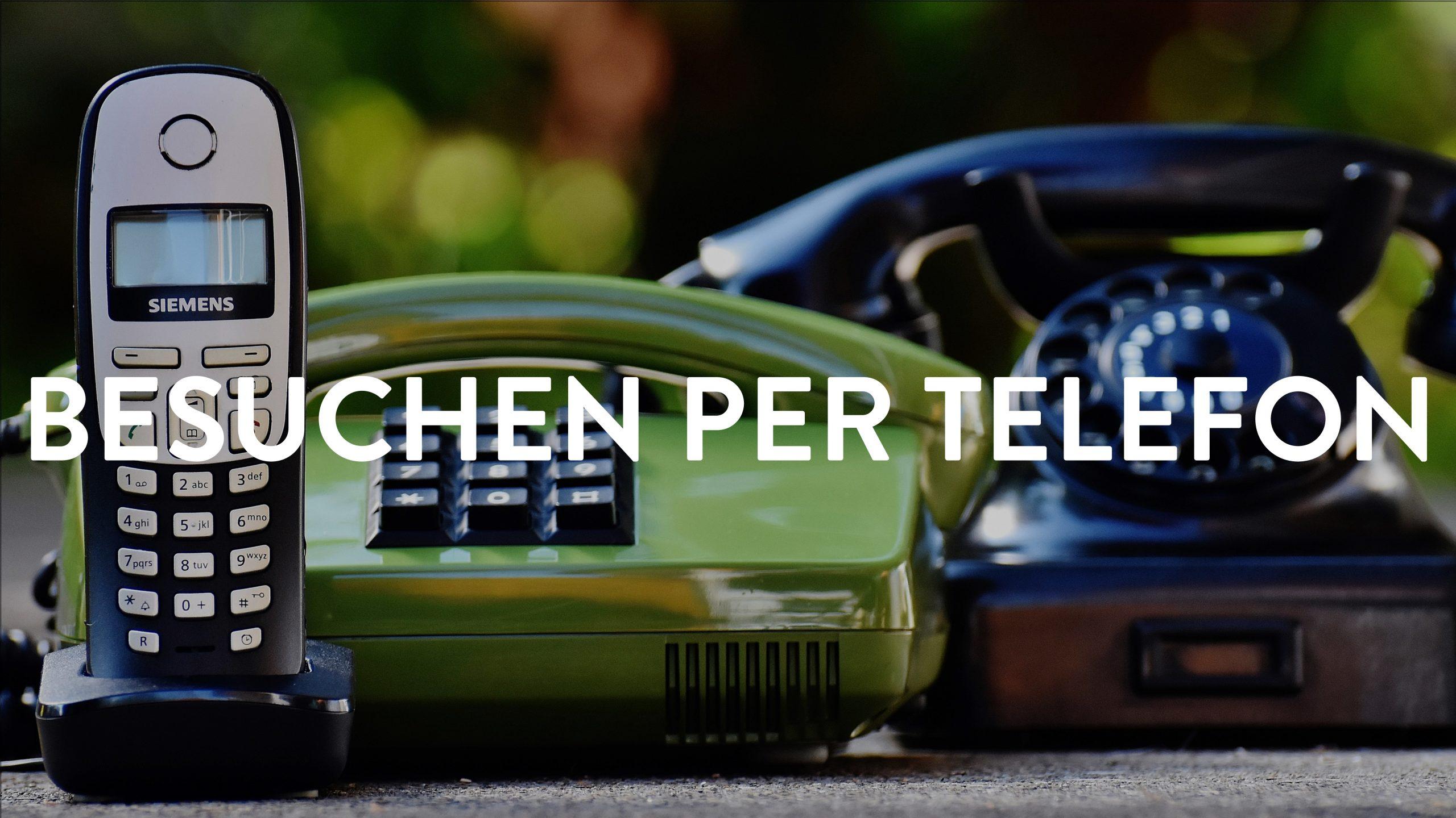 Über Telefon verbunden bleiben