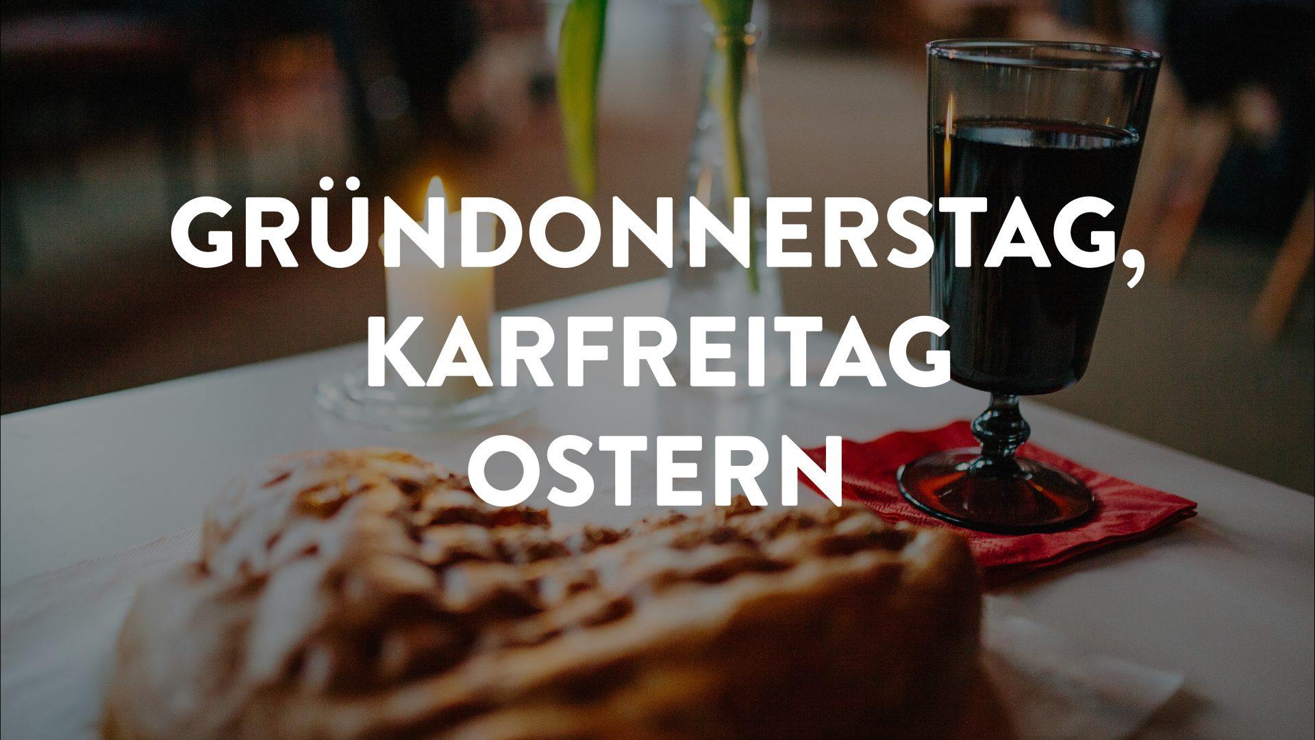 Gründonnerstag, Karfreitag, Ostern, Matthäus-Gemeinde, Matthäus, Huchting