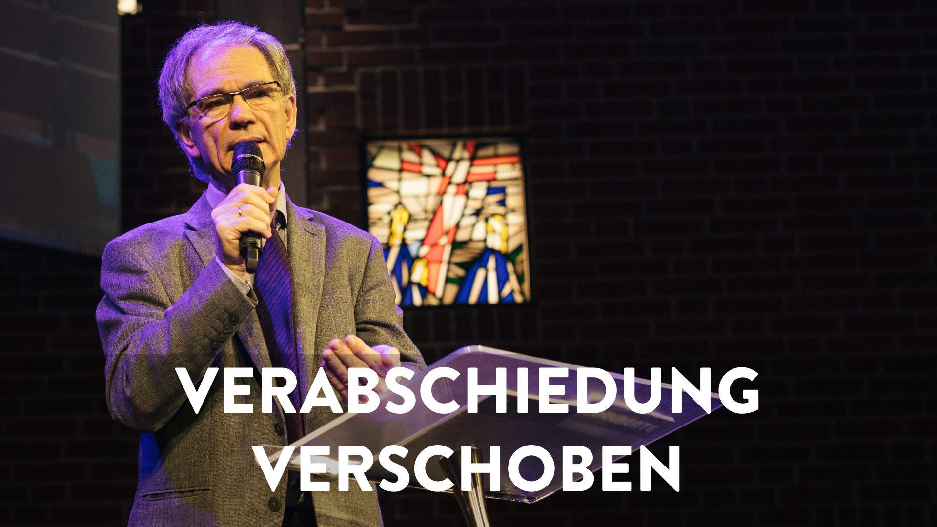 Verabschiedung; Lothar Bublitz, Matthäus-Gemeinde; Huchting